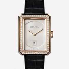 Coco Crush ring - Quilted motif ring, small version, in 18K BEIGE GOLD and diamonds J11101 at the CHANEL Fine Jewelry website. #jewelrywebsites