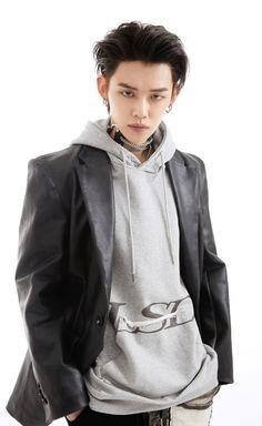 Rapper, South Korean Boy Band, Designer Collection, Boy Bands, Raincoat, Street Wear, Bomber Jacket, Leather Jacket, Photoshoot