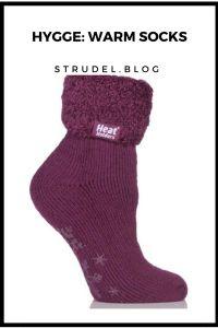 hygge warm cozy socks