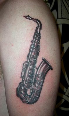 18e6e3c42 sax Saxophone Tattoo, Music Canvas, Girly Tattoos, Clef, Tattos, Tattoo  Designs