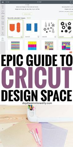 Full Cricut Design Space Tutorial For Beginners - 2019 To master your Cricut machine you need to master Cricut Design Space. This tutorial is frustration proof and it will teach you everything you need to know to get started. Cricut Air 2, Cricut Help, Cricut Vinyl, Cricut Cuttlebug, Hobbies To Try, Cricut Craft Room, Cricut Tutorials, Cricut Ideas, Cricut Explore Air