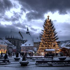 "500px / Photo ""Christmas"" by George Nutulescu - Christmas in Brasov - Romania"