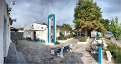Are you planning your wedding ? Panagia Faneromeni in Nea Skioni is one of the most beautiful church. Just across the church we offer luxurious accommodation. http://www.halkidikivillas.com/index.php/en/kassandra/nea-skioni-the-old-port