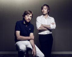 Jean-Benoît Dunckel et Nicolas Godin // Air