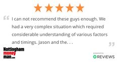 Another satisfied customer. Thank you for the great feedback!  Your Local Mortgage Advice Team - We're always happy to help.  #MortgageAdvisorsNottingham #BookYourFreeConsultation