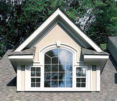 triple window dormer | More effective than even triple glazing.