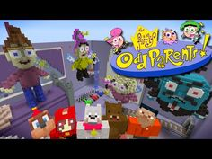 Minecraft Xbox Hide And Seek The Fairly Odd Parents Youtube