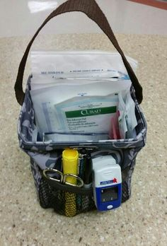 The Littles Carry-All Caddy is great for nurses as a perfect little first-aid kit.
