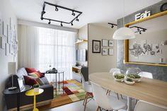 Pura inspiração: 3 problemas e soluções para um apartamento de 59m²