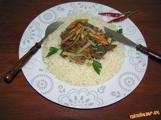 Rezance z kačacích pŕs s ryžou ♥ ♥ ♥ Grains, Yummy Food, Delicious Food, Seeds, Korn