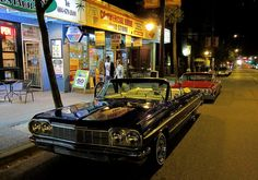 Custom Impala's on Commercial Drive. Impala, Brewery, Vancouver, Pride, Commercial, Childhood, Community, Places, Car