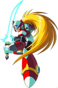 Zero (Megaman X): No matter how dark his past was, he still is a reliable partner as a Maverick Hunter, plus he's one of few characters that I prefer than the Main Hero Dbz, Mega Man X2, Manga Anime, Maverick Hunter, Megaman Zero, Megaman Series, Fictional Heroes, Fighting Robots, Gothic Anime