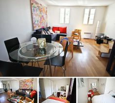 2-bedroom duplex apartment for rent in Paris on Rue des Vertus - 2300 Euro per month