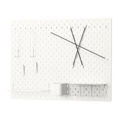 IKEA SKÅDIS panneau perforé, combinaison