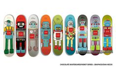 Evan Hecox Chocolate Skateboards Robot | Flickr - Photo Sharing!