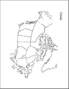 Geography for Kids: FREE printable Map of Canada