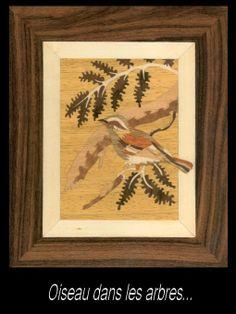 Oiseaux... - Le blog de Dame hélène et ses marqueteries