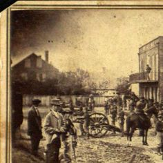 Photograph of the 4th Iowa Battery at Lee's surrender :: Boone County Historical Society Civil War Collection