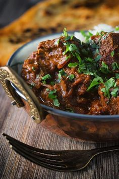 This Lamb Rogan Josh is heavily influenced by Kashmiri versions, it is richly spiced with complimentary and complex flavours and plenty of chili! Ready in about an hour this is a easy week night dinner. Lamb Recipes, Spicy Recipes, Curry Recipes, Indian Food Recipes, Asian Recipes, Chicken Recipes, Cooking Recipes, Pastry Recipes, Steak Recipes