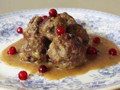 Silkosta rukiiseen – From Pine Bark to Rye: Lihapullia ja kastiketta oluella terästettynä – Finnish Meatballs and Brown Sauce