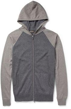 8fc8f7f92bf Loro Piana Portland Silk and Cashmere-Blend Zip-Up Hoodie Mens Fashion  Online,