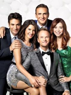 I'm going to miss these guys on Mondays :(. How I Met Your Mother Comedy Tv Series, Film Serie, Series Movies, How I Met Your Mother, Josh Radnor, Robin, Suit Up, Quiz, I Meet You