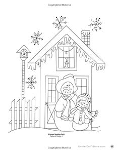 Embroidery Pattern of Redwork Blizzard Buddies Design 1 by (©AnniesCraftStore.com): Pearl Louis Krush via Amazon.com Books. jwt Types Of Embroidery, Hand Embroidery Patterns, Embroidery Applique, Cross Stitch Embroidery, Machine Embroidery, Embroidery Designs, Needlepoint Patterns, Quilt Patterns, Snowman Quilt
