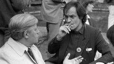 helmut schmidt lindenberg | Udo Lindenberg im Gespräch mit Helmut Schmidt beim…