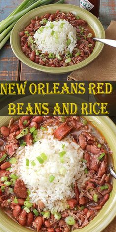 cajun and creole recipes New Orleans Red Beans and Rice Delicious Foods Around The World Louisiana Red Beans And Rice Recipe, Red Beans And Rice Recipe Crockpot, Red Bean And Rice Recipe, Cajun Beans Recipe, Recipes With Red Beans, New Orleans Red Beans And Rice Recipe, Red Beans And Sausage Recipe, Creole Red Beans And Rice Recipe, Recipe Using Pinto Beans