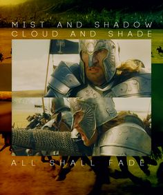 Faramir and pippin are my favorite LOTR characters! (I know pippin isn't shown but its his song)