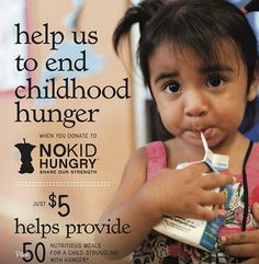 no kid hungry Share Our Strength restaurant campaign #nonprofit #fundraising #cause #marketing #campaign