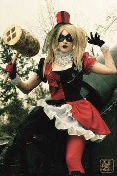 Harley Quinn Steampunk Version by ArisuNiji.deviantart.com on @deviantART