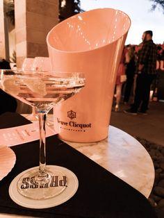 The Bubbly Blonde - Four Seasons Las Vegas, Veuve Clicquot, Martini, Bubbles, Tableware, Dinnerware, Tablewares, Dishes, Martinis