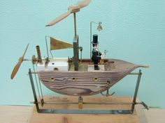 LITTLE BRITAIN - Peters Wooden Automata - Mechanical Sculptures, Wood