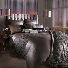 Kylie Minogue Eva Bedding - Mauve