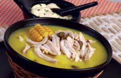 Ajiaco ,absolutely my favorite colombian food :) Cuban Dishes, Colombian Food, Colombian Recipes, Cuban Recipes, Latin Food, Recipe Collection, Sausage, Yummy Food, Meals