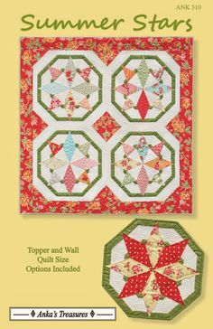Star Quilt Patterns, Star Quilts, Scrappy Quilts, Mini Quilts, Craft Patterns, Quilt Blocks, American Patchwork And Quilting, Little Charmers, Star Wall
