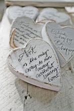 Art heart. From the Vibeke Design blog.
