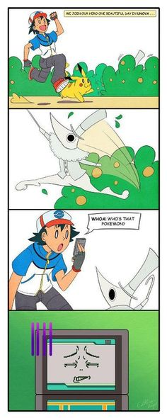 I actually remember when a)Ash knew the Pokémon w/o checking his Pokédex and b)When DTK didn't look hawt for a second.