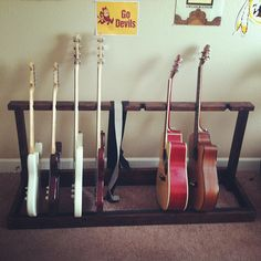 Mulitple Guitar Rack by sagambee on Etsy