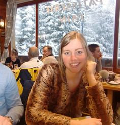 In a nice and cozy restaurant @Valloire Galibier