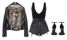 """""""wanna break us"""" by stephcoco ❤ liked on Polyvore featuring Gucci, Alexander Wang and Yves Saint Laurent"""