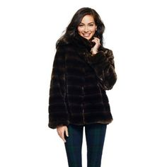 Faux Fur Chubby Coat | Blazers & Outerwear | Clothing | Categories | C. Wonder