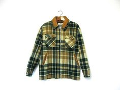 Mens 70s plaid winter coat. Woolrich barn by dirtybirdiesvintage, $56.00