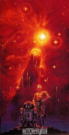 *STAR WARS: Episode VI - Return of the Jedi, 1983....Noriyoshi Ohrai