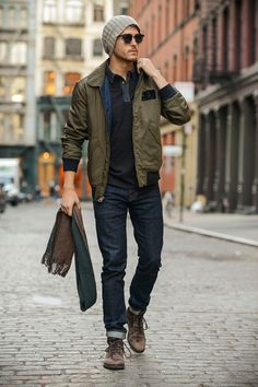 Casual look - Sporty, Classic, Modern and Easy! #CasualLook #MensFashion