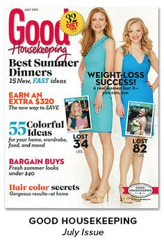 As Seen In - Good Housekeeping, July Issue