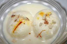 Ras malai - my favorite Bengali dessert!