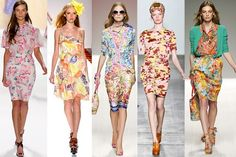 There Is No Such Thing As Clashing In Florals This Season: More IS More For Spring
