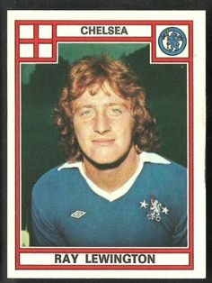 Ray Lewington, Chelsea midfielder (1975-79) & former assistant manager of the England national football team